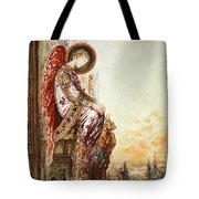 Angel Traveller Tote Bag by Gustave Moreau