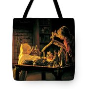 Angels of Christmas Tote Bag by Greg Olsen