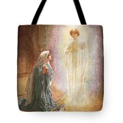 Annunciation Tote Bag by William Brassey Hole
