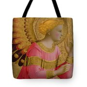 Annunciatory Angel Tote Bag by Fra Angelico