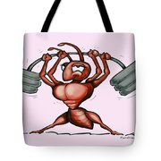 Ant Tote Bag by Kevin Middleton
