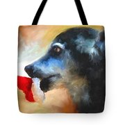 Anticipating Christmas Tote Bag by Jai Johnson