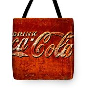 Antique Soda Cooler 3 Tote Bag by Stephen Anderson