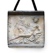 Apollo Relief In Gdansk Tote Bag by Artur Bogacki