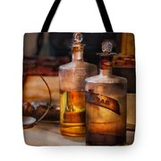Apothecary - Magic Elixir Tote Bag by Mike Savad