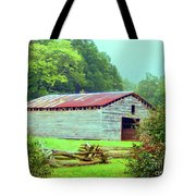 Appalachian Livestock Barn Tote Bag by Desiree Paquette