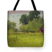 Apple Orchard Tote Bag by George Snr Inness