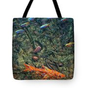 Aquarium 2 Tote Bag by James W Johnson