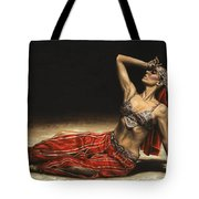 Arabian Coffee Awakes Tote Bag by Richard Young