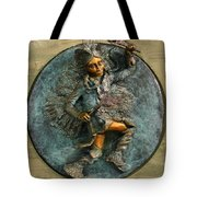 Arapaho Dancer from Snowy Range Life  Tote Bag by Dawn Senior-Trask