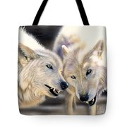 Arctic Pair Tote Bag by Sandi Baker