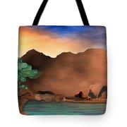 Arizona Sky Tote Bag by Arline Wagner