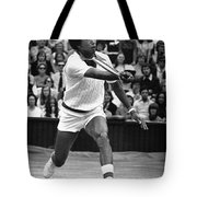 ARTHUR ASHE (1943-1993) Tote Bag by Granger