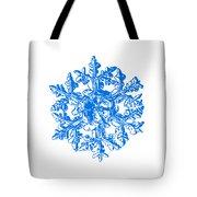 Snowflake Vector - Gardener's Dream White Version Tote Bag by Alexey Kljatov
