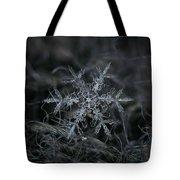 Snowflake 2 Of 19 March 2013 Tote Bag by Alexey Kljatov