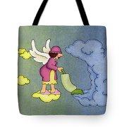 Heavenly Housekeeper Tote Bag by Sarah Batalka