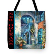 Brulatour Courtyard Tote Bag by Dianne Parks