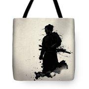 Samurai Tote Bag by Nicklas Gustafsson