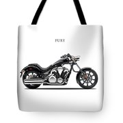 Honda Fury Tote Bag by Mark Rogan