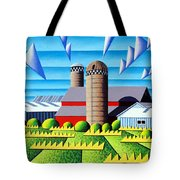 As The Crow Flies Tote Bag by Bruce Bodden