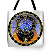 Astronomical Clock Tote Bag by Michal Boubin