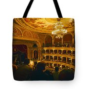At The Budapest Opera House Tote Bag by Madeline Ellis
