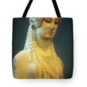 Athenian Kore Tote Bag by Andonis Katanos