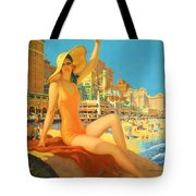 Atlantic City  Tote Bag by Nomad Art And  Design