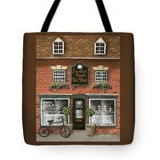Auntie Mae's Tea Shop Tote Bag by Catherine Holman