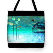 Aurora 12 Tote Bag by Corey Ford