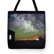 Aurora Lights Tote Bag by Annmarie Vierick