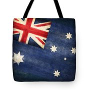 Australia  Flag Tote Bag by Setsiri Silapasuwanchai