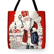 Austrian Christmas Card Tote Bag by Granger