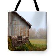 Autumn Barn Tote Bag by Jill Battaglia