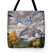 Autumn Echos Tote Bag by Jerry LoFaro