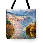 Autumn Lake Tote Bag by Evgeni Dinev