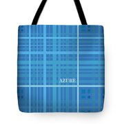 Azure Blue Abstract Tote Bag by Frank Tschakert