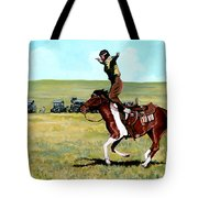 Babette Rides Again Tote Bag by Tom Roderick