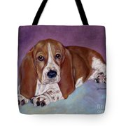 Baby B. Tote Bag by Pat Saunders-White