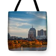 Back Bay Sail Tote Bag by Susan Cole Kelly
