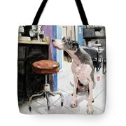 Back Office Tote Bag by Debra Jones