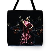 Bailarina Orgullosa Del Flamenco Tote Bag by Richard Young