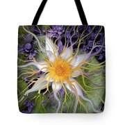Bali Dream Flower Tote Bag by Christopher Beikmann