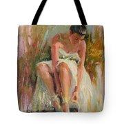 Ballerina Tote Bag by David Garrison