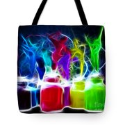 Ballet Of Colors Tote Bag by Pamela Johnson