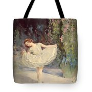 Ballet Tote Bag by Septimus Edwin Scott