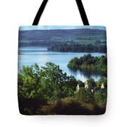 Ballindoon Abbey, Lough Arrow, County Tote Bag by The Irish Image Collection