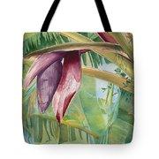 Banana Flower Tote Bag by AnnaJo Vahle