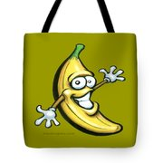 Banana Tote Bag by Kevin Middleton