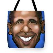 Barack Obama Tote Bag by Kevin Middleton